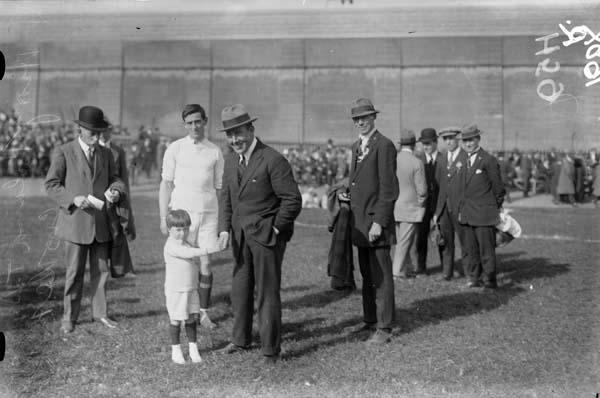 Harry Boland at Croke Park, 1921
