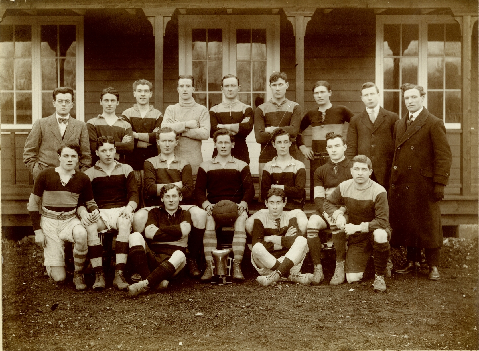 UCD Team that won the Sigerson Cup, 1915