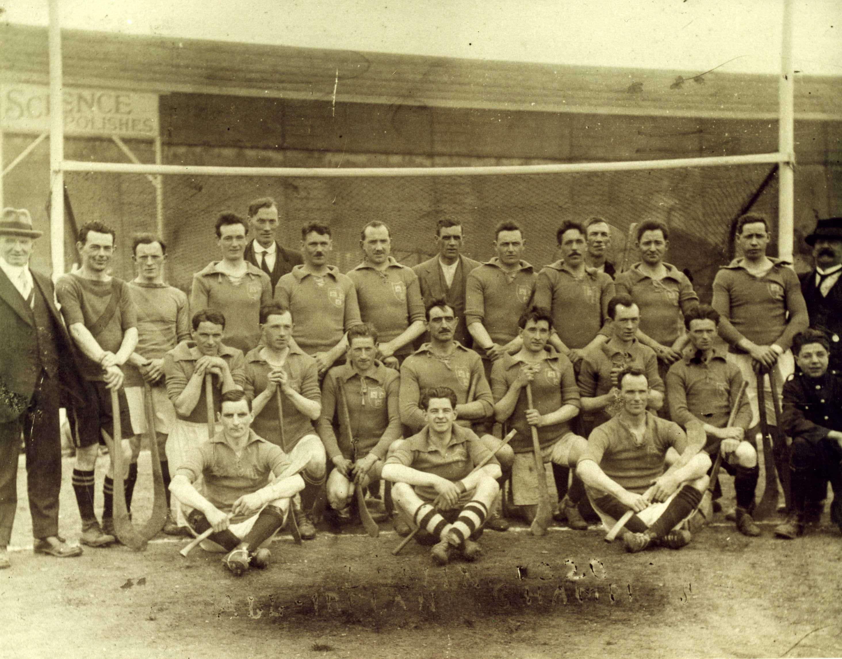 Dublin (Faughs) 1920 Hurling All-Ireland Champions