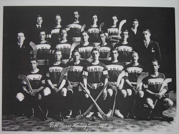 1916 PH Pearses Hurling Team, San Francisco