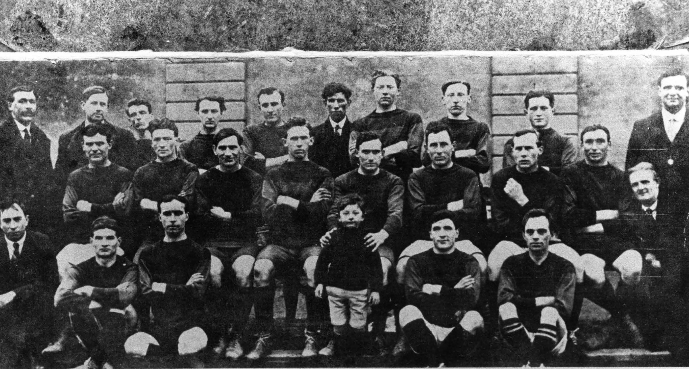 Wexford (Blues & Whites) 1918 Football All-Ireland Champions