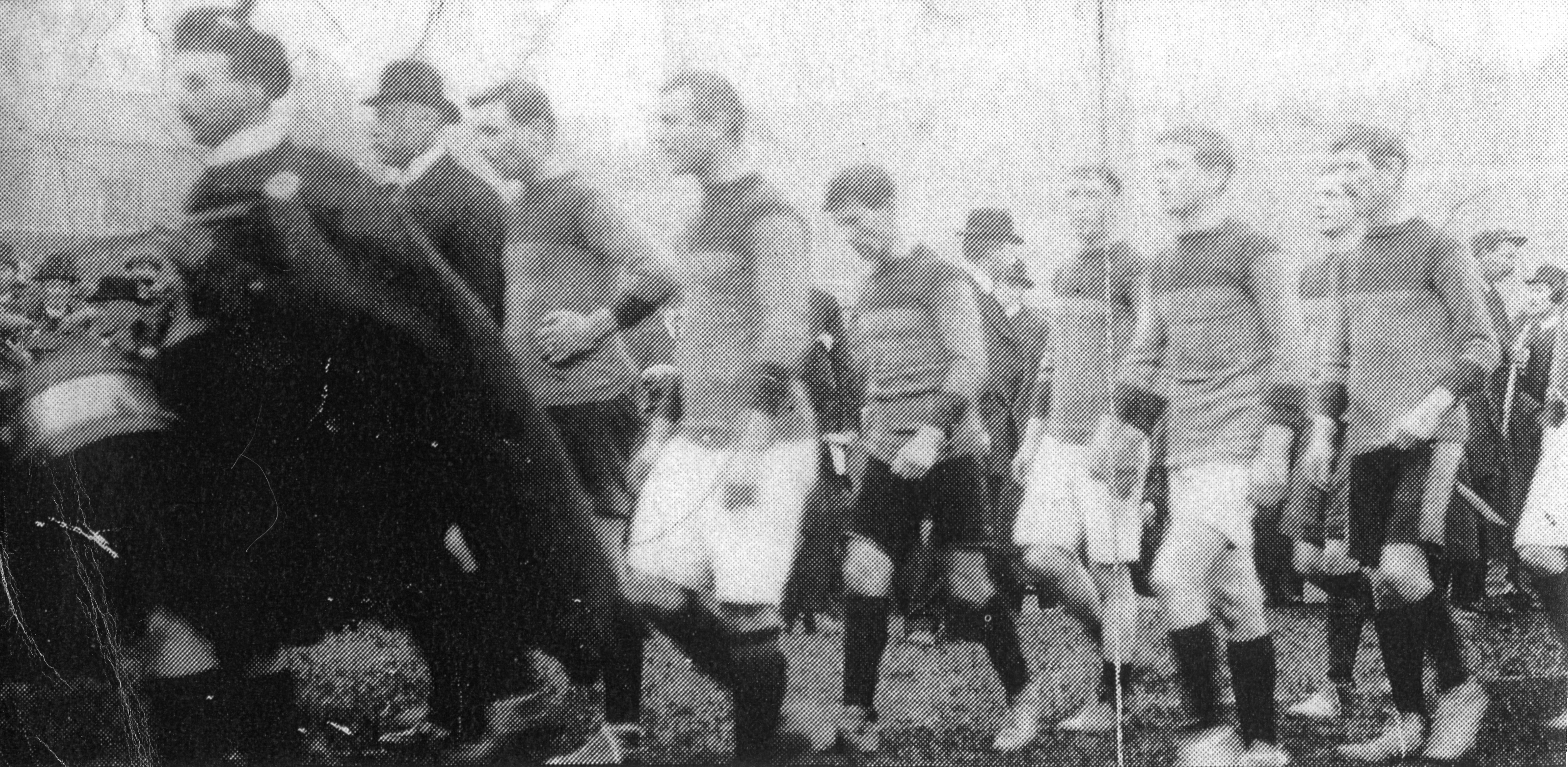 Teams Parade Before the 1913 Football All Ireland Final