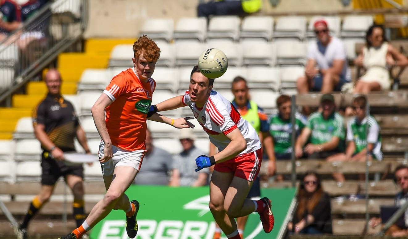 EirGrid Ulster U20: Derry impress in Clones