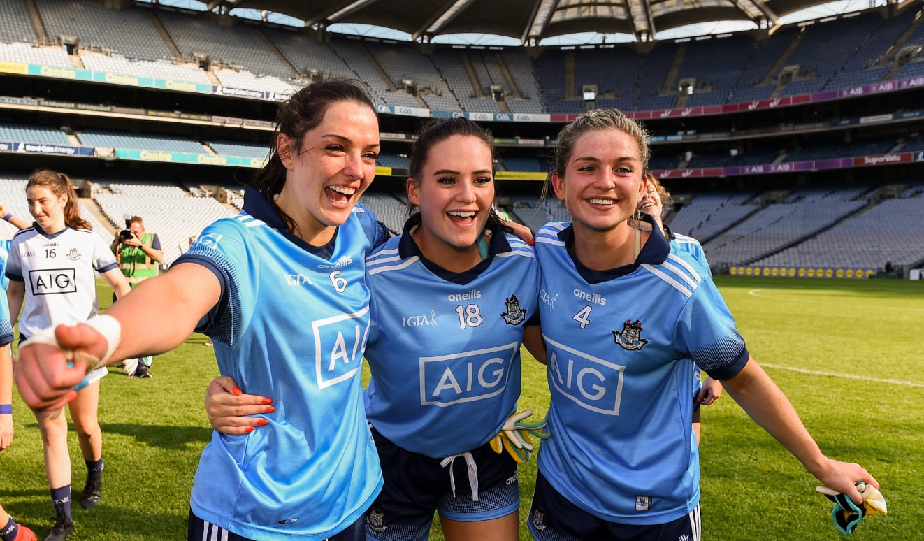 Dublin Defeat Cork In Ladies Senior Football Semi Final